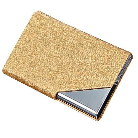 Billetera Tarjetero Metalico Hombre Rfid Tarjeteros Mujer Tarjetas Credito De Visita Baratos Marca Caja Del Paquete