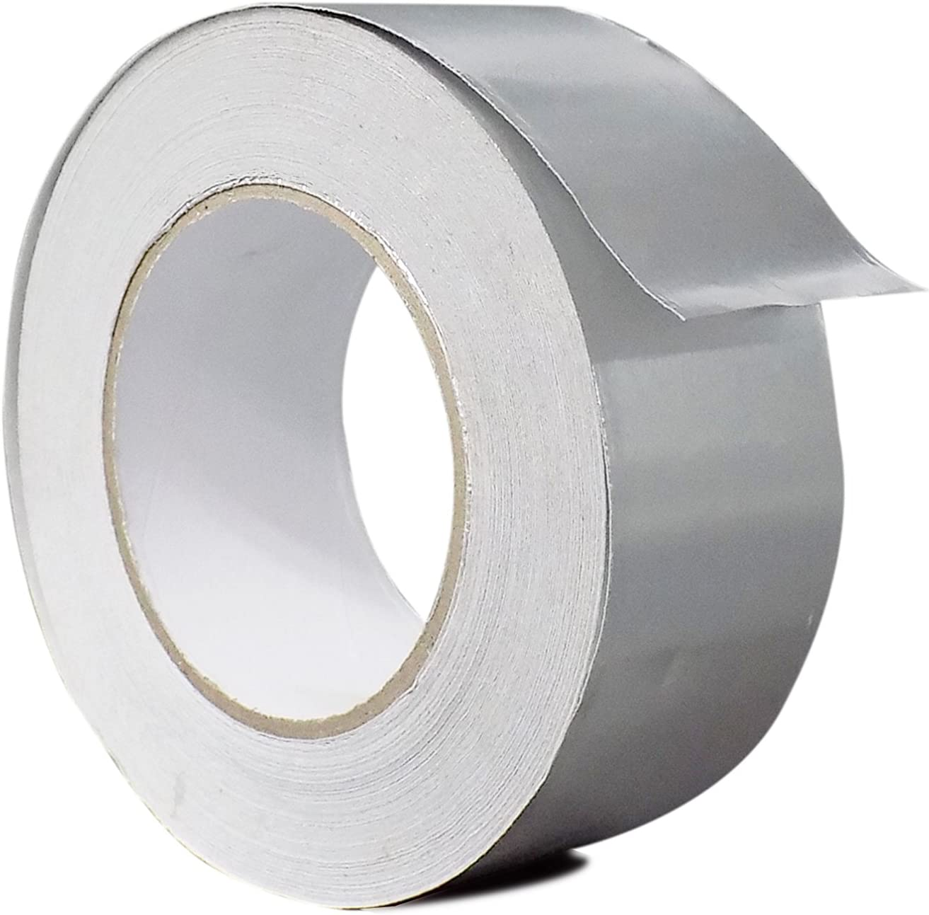 WOD AF-20R Premium Grade General Purpose Heat Shield Resistant Aluminum Foil Tape - Good for HVAC, Air Ducts, Insulation (Available in Multiple Sizes): 2.5 in. wide x 50 yds.