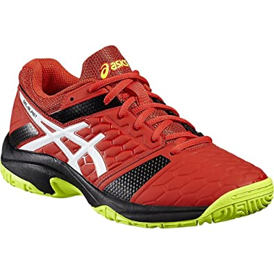 Asics Gel Blast 7 Men's Indoor Shoes Red/White/Yellow For Squash, Badminton