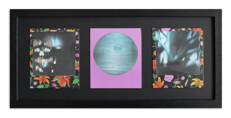 WandStyle Style de Photos Cadre pour Polaroid Serie A850 Noir cérusé Normal  Mural en Verre avec Passe-Partout Noir pour 3 Polaroids  Amazon.fr  Cuisine    ... b3b216dd83a1