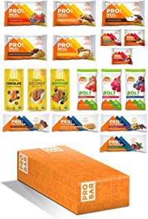 product image for PROBAR - Meal, Base, Bolt, Bite, Butters Starter Pack, Non-GMO, Gluten-Free, Healthy, Plant-Based Whole Food Ingredients, Natural Energy (17 Count) Packaging May Vary