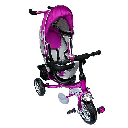 Dreirad   Lenkstange Kinder 2-5 Jahre Fahrrad Lila metallic