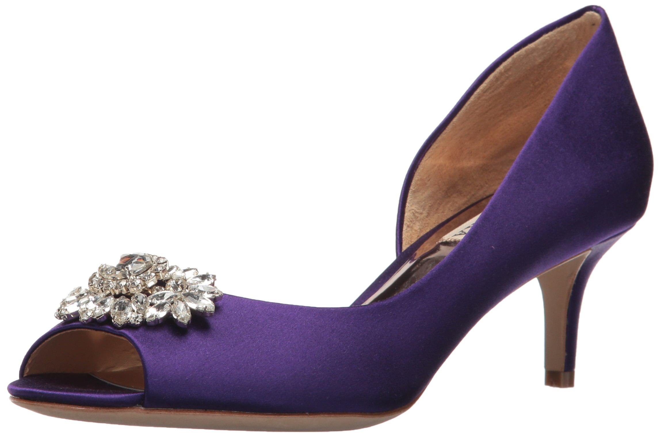 Badgley Mischka Women's Macie Pump, Violet,9 M US