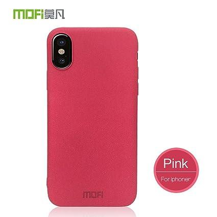 Amazon.com: Para iphone X funda mate Mofi carcasa trasera ...