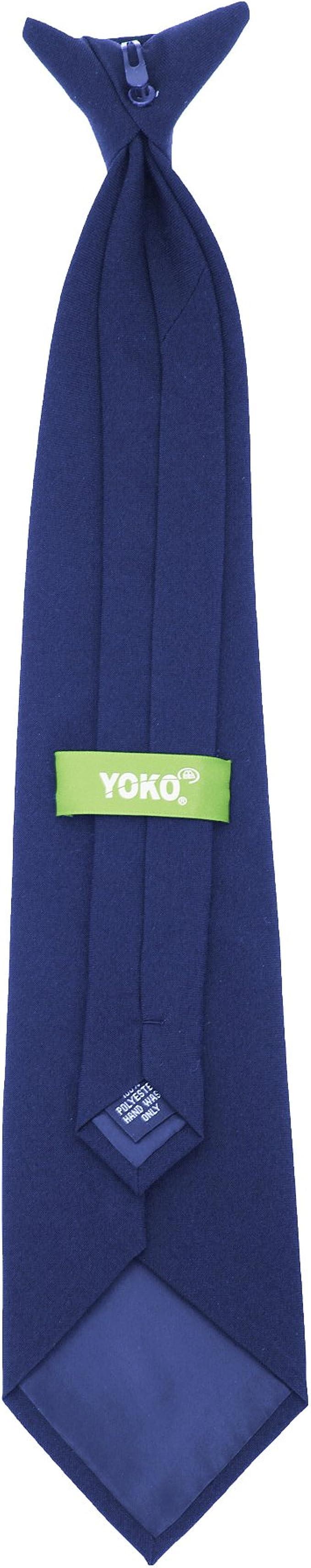 Yoko - Corbata Quita y Pon Modelo Clip-on - Trabajo: Amazon.es ...
