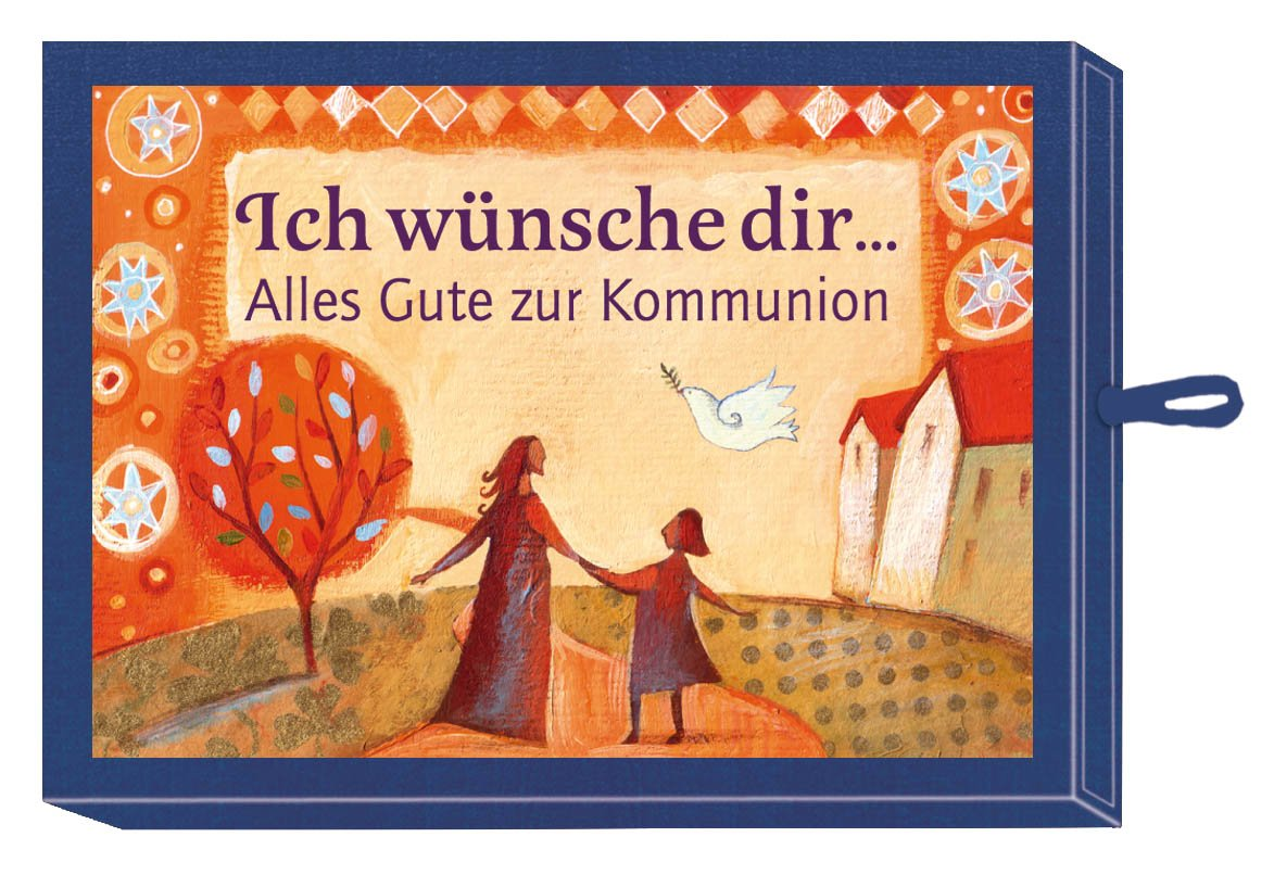 Ich wünsche dir ...  Alles Gute zur Kommunion (blau): (Verkaufseinheit)