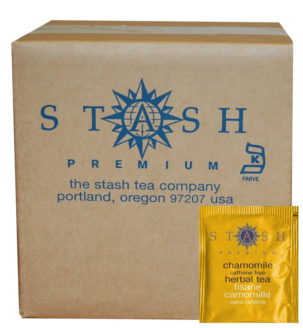 Stash Tea Chamomile Herbal Tea, 100 Count Box of Tea Bags in Foil (packaging may vary)