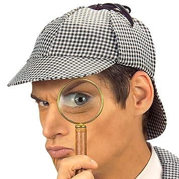 Gorro para Detective Sherlock inspektor pantalla Carolina Gorro Inspector  Policía 4a6c20dc2e3