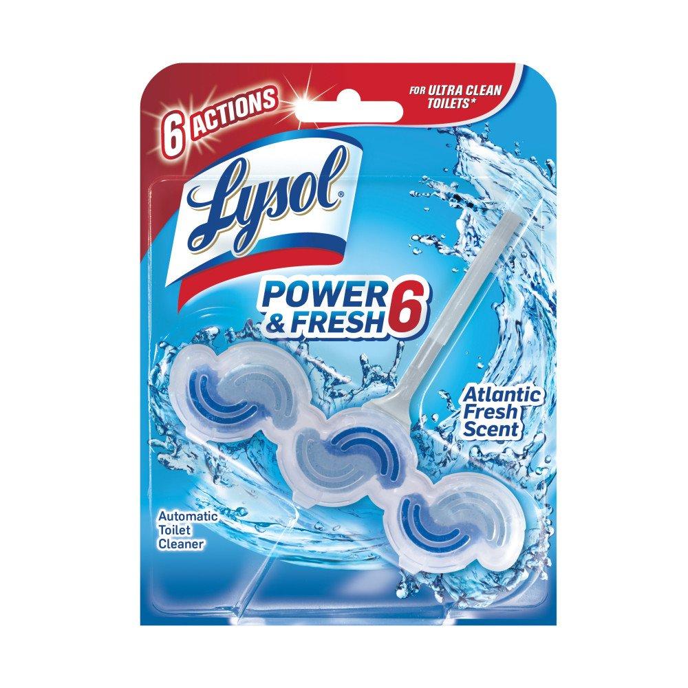 Amazon.com: Lysol Power & Fresh 6 Automatic Toilet Bowl Cleaner ...