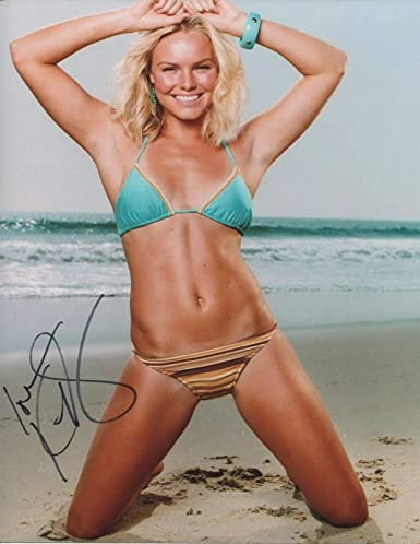 Kate Autograph Bikini Signed Blue Bosworth Crush Photo 8x10 Pose PuiXZk