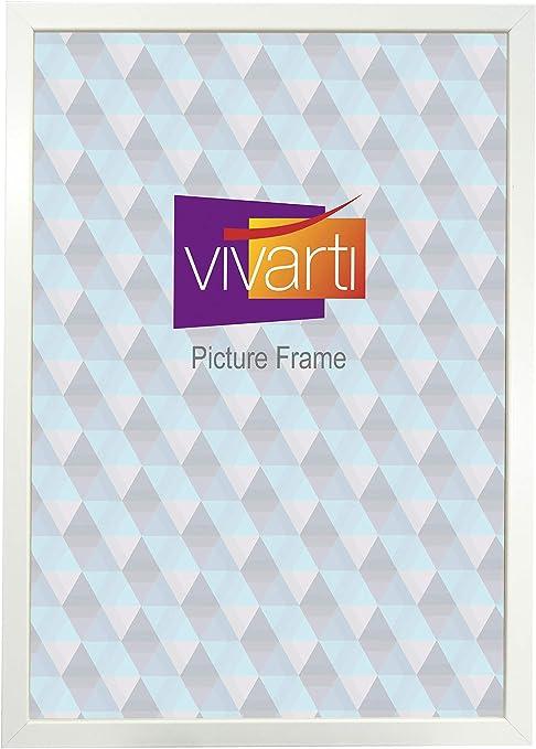 Vivarti Matt Blanco Caja Color Marco, 50 x 60 cm: Amazon.es: Hogar