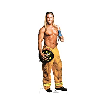Buy Star Cutouts Kevin Cornell Of Chippendale Fireman Cardboard Cutout Stand Up Celebrity Life Size Stand In 74 X 27 Online At Low Prices In India Amazon In