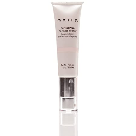 Mally Beauty Perfect Prep Poreless Primer Hydrates Minimizes Look Fine Lines, Wrinkles, Pores 1 Ounce MY.2082