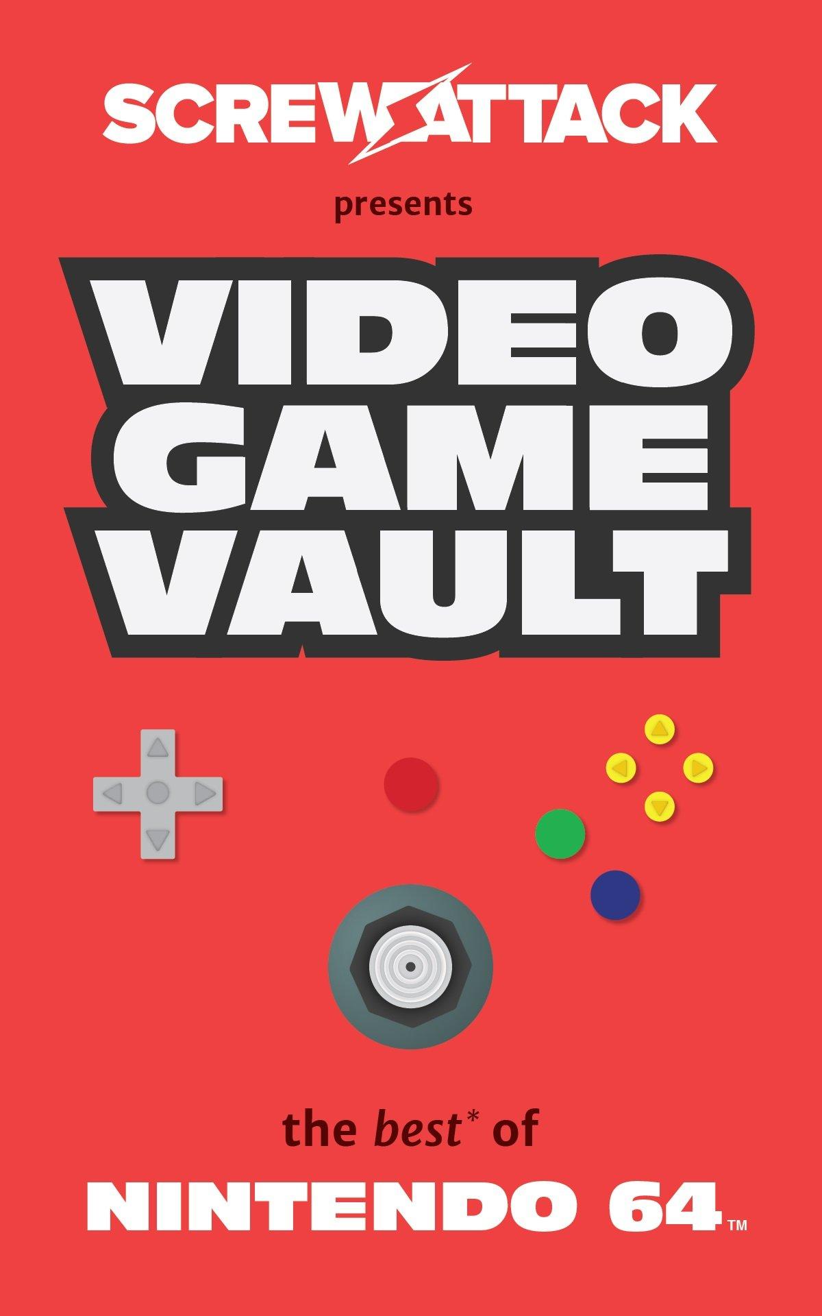 Amazon Com Screwattack S Video Game Vault The Best Of Nintendo 64 9781633533738 Skistimas Craig Baker Bryan Cramer Nick James Chad Bolen Shaun Books