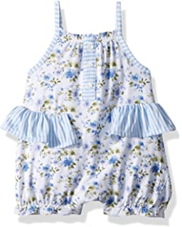250fd4fe4c3 Amazon.com  Mud Pie Mini Juniper Baby Girls Shorts Romper Outfit ...