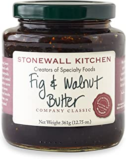 product image for Stonewall Kitchen Fig and Walnut Butter, 12.75 Ounces