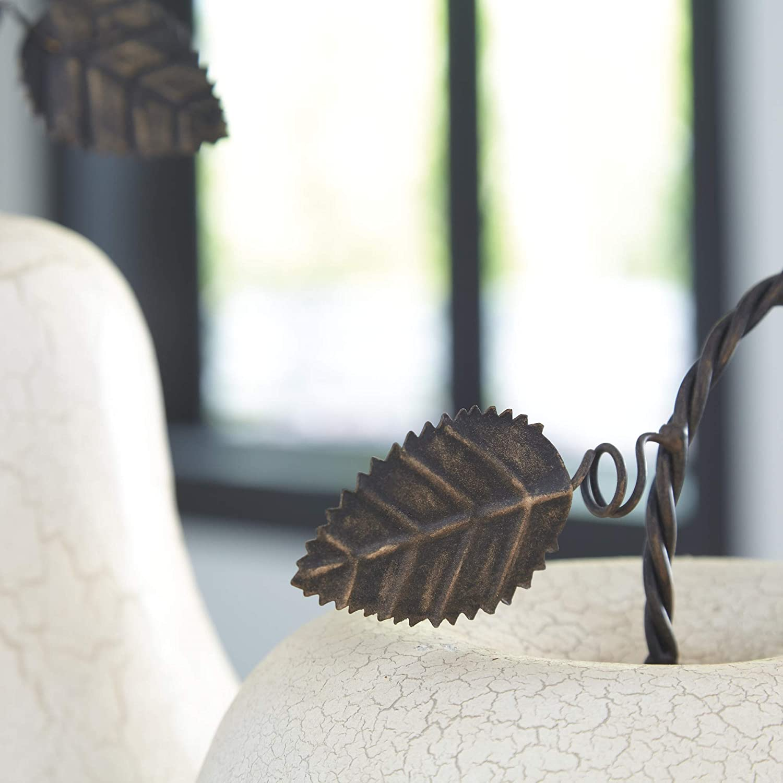 Signature Design by Ashley Bidelia Sculpture Set 2//CN Antique White 2 Count