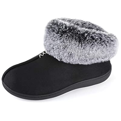 RockDove Women's Campfire Bootie Slipper with Memory Foam | Slippers