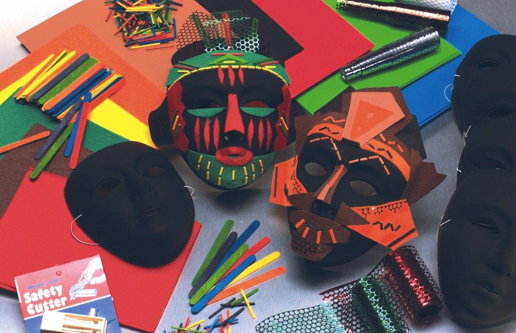 Make Your Own afrikanischen Masken-Set 30 Projekte
