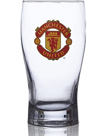 e0e3ae47ab2f Manchester United FC Pint Glass - Great for all Soccer Fans! - 100% Licensed