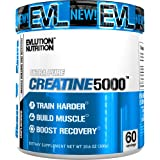 Evlution Nutrition Creatine5000 5 Grams Of Pure Creatine In Each Serving Unflavored Powder 60 Serving