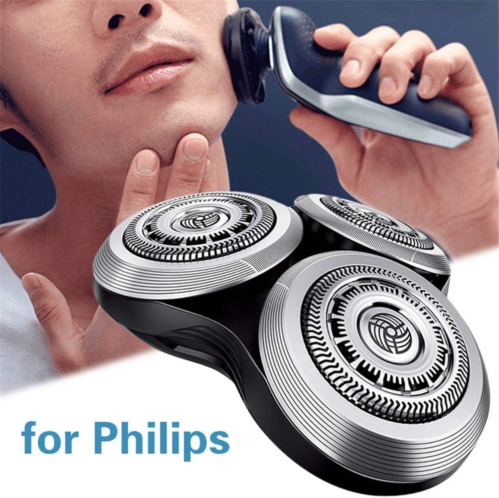 starte Reemplazo De Cabezal De Afeitadora para Afeitadora Philips Sh90 S9000 S7000 S8000 RQ12 RQ10: Amazon.es: Hogar