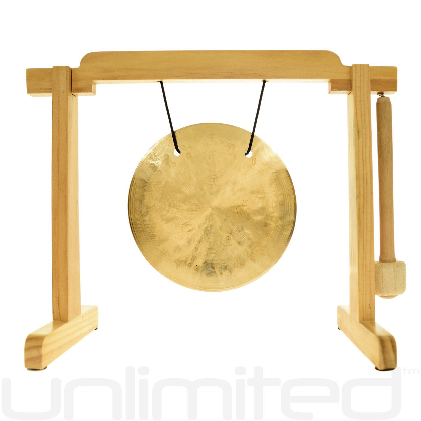 6'' to 7'' Gongs on the Tiny Atlas Stand - Natural