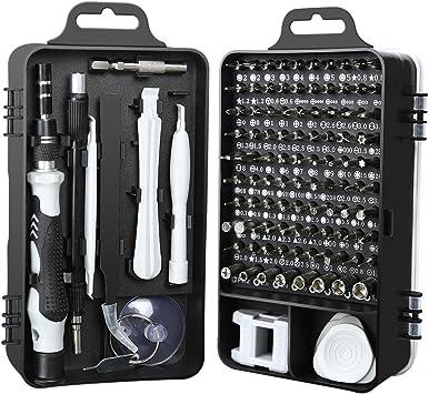 Tablets L-126 5 in 1 Versatile Repair Alloy Steel Bit Screwdriver Set Repair Kits Deluxe Cell Phone Repair Tool Kits for Smart Phones