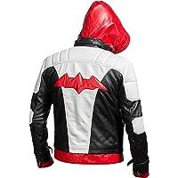 Aus Eshop Red Hood Batman Arkham Knight Game Jason Todd Biker Leather Costume Jacket