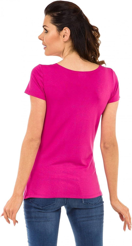 Damen Umstands Shirt Oberteil Top witzige sp/ähen Baby Motiv Zeta Ville 501c