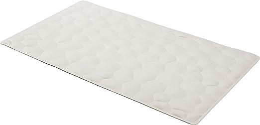 Basics Anti-Slip Bathtub Mat 70 x 40 cm Pepples White