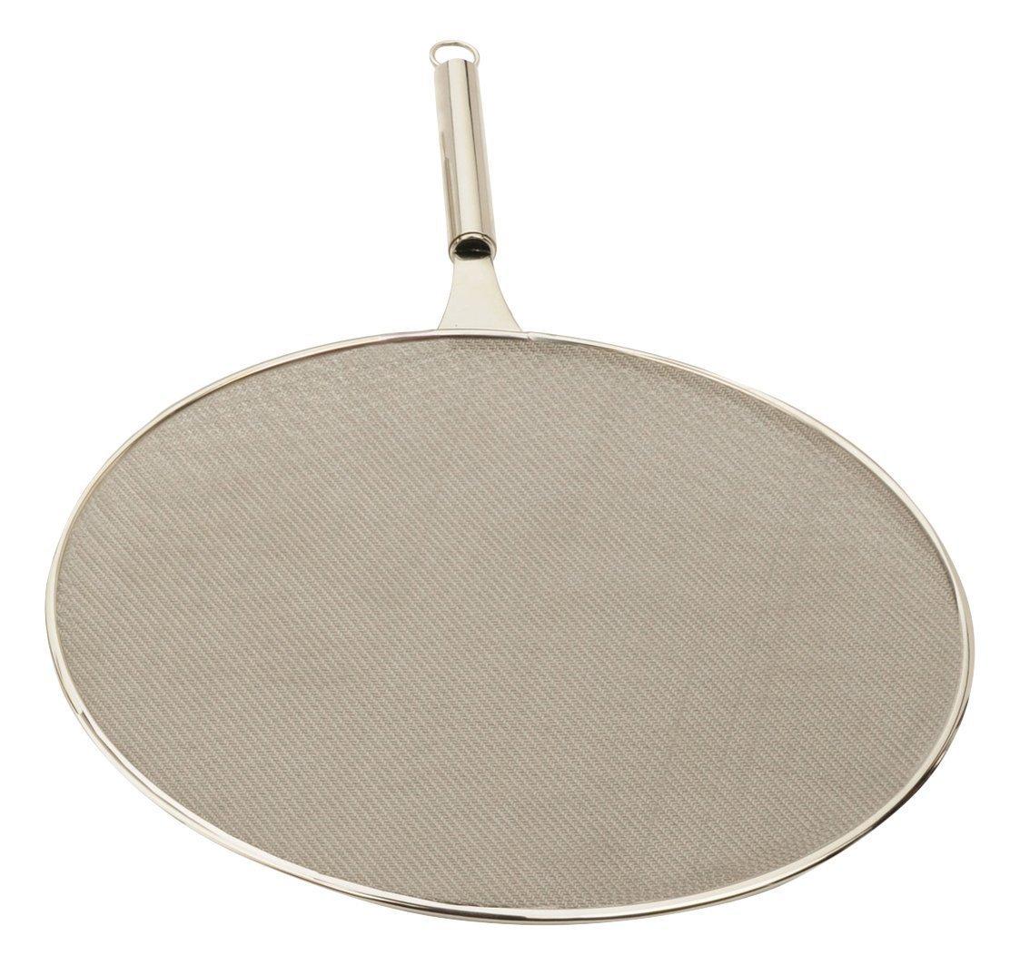 """13"""" stainless FRYING Pan wok SPLATTER screen KITCHEN NU"""