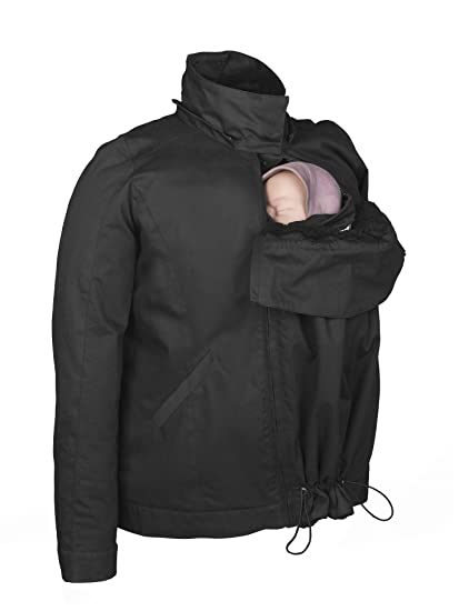 Abrigo de porteo Momawo 4 en 1 (Black, S)