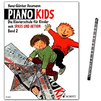 Die Klavierschule f/ür Kinder mit Spa/ß und Aktion Piano Kids 3