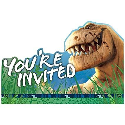 Amazon Disney The Good Dinosaur Invitations Party Favor