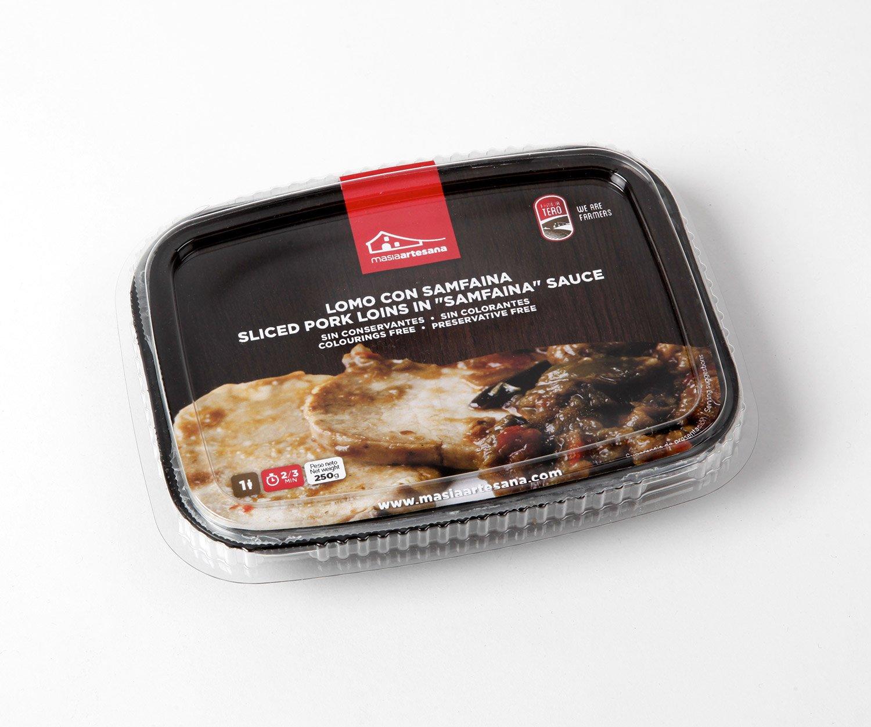 MASIA ARTESANA - Lomo Con Samfaina - Pack de 3 unidades: Amazon.es: Alimentación y bebidas