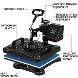 VEVOR Power Heat Press 8 in 1 Industrial-Quality
