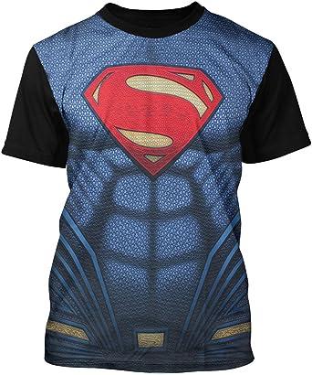 Superman - Camiseta - para Hombre: Amazon.es: Ropa y accesorios
