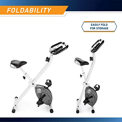 Marcy Foldable Upright Exercise Bike review
