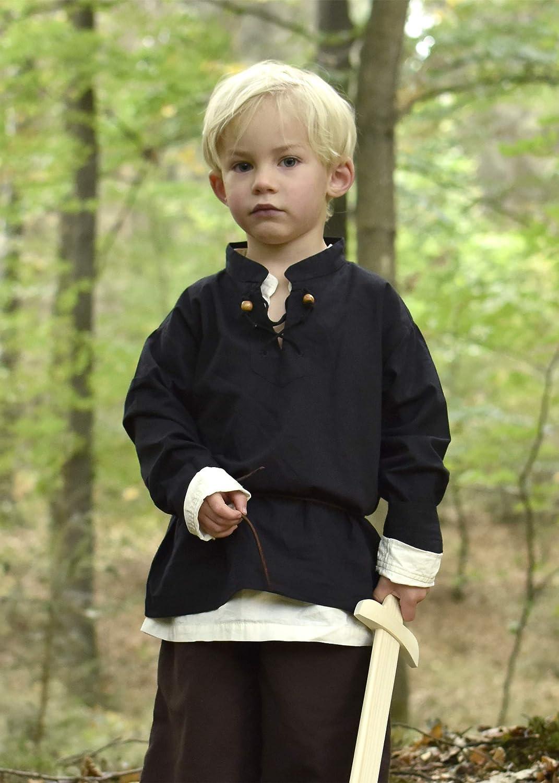 LARP Carnival Costume Battle-Merchant Colin Various Designs Children/'s Medieval Knight/'s Shirt