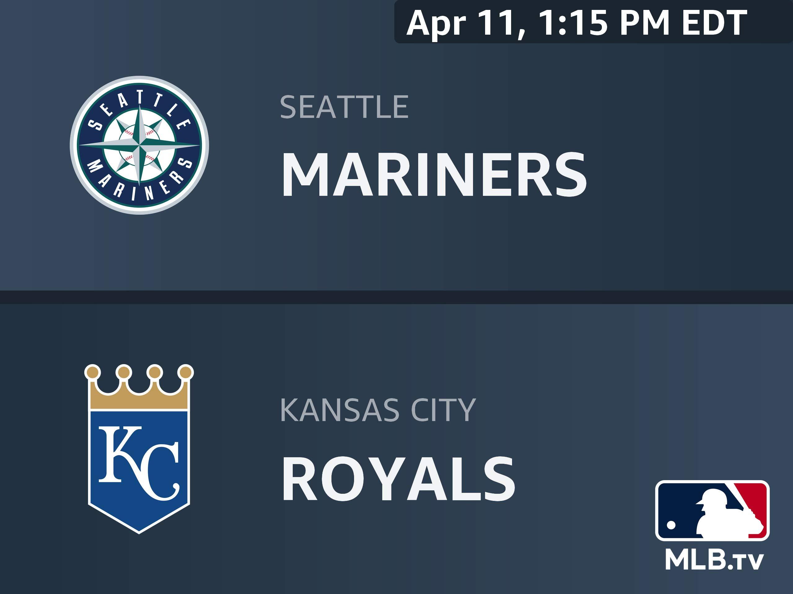 64823eb2aaf Amazon.com  Watch Seattle Mariners at Kansas City Royals