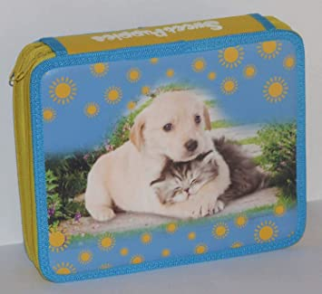 Balmar - Estuche con 2 cremalleras para perros y gatos con ...