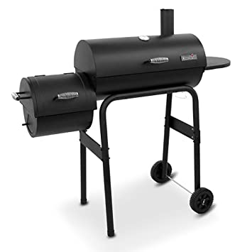 Awesome Char Broil American Gourmet Offset Smoker, Standard