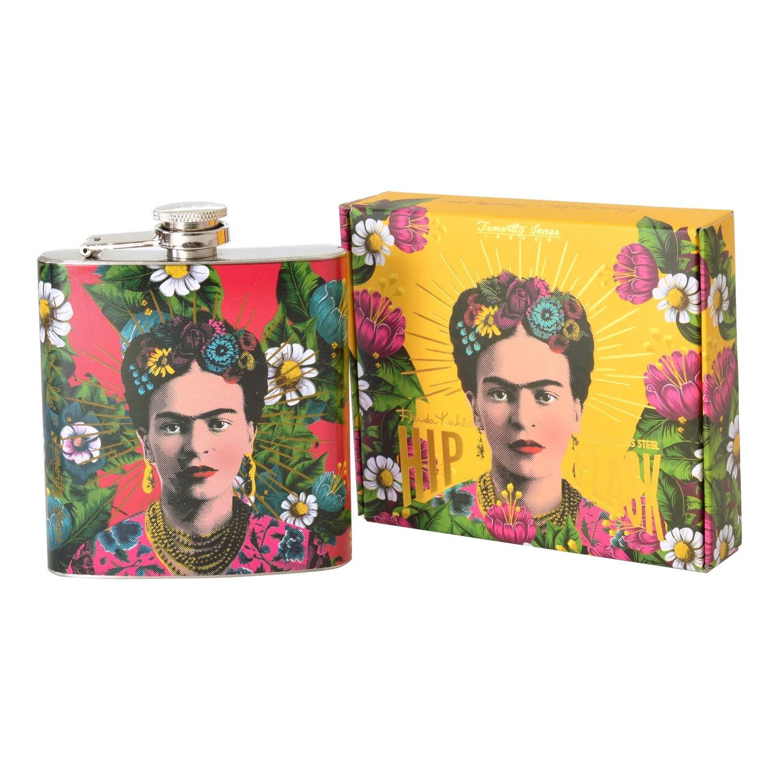 Frida Kahlo Flachmann Taschenflasche Taschenflachmann
