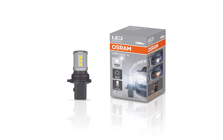 OSRAM LEDriving SL P13W, retrofit LED, luz de marcha diurna DRL, blanco frí o, 3828CW, 12 V, caja plegable (1 bombilla) blanco frío