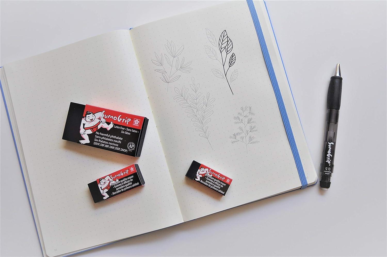 Pack of 2 Blue Barrel Sakura Sumo Grip Comfort Grip Mechanical Pencil 0.5mm