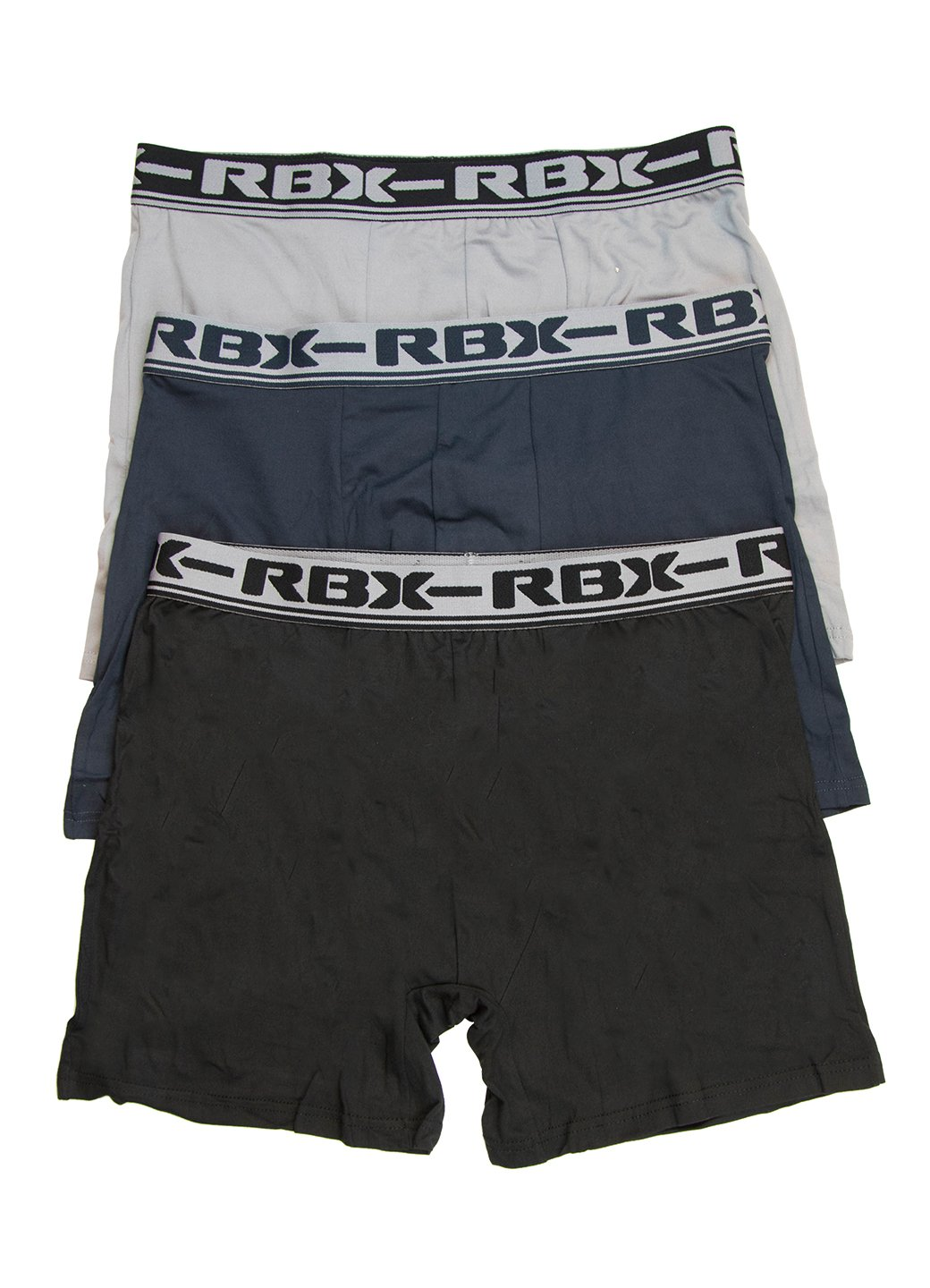 RBX Active Mens Boxer Brief 3-Pack Navy XL