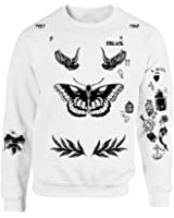 Allntrends Harry Style Sweatshirt Tattoo One Direction Shirt Tee
