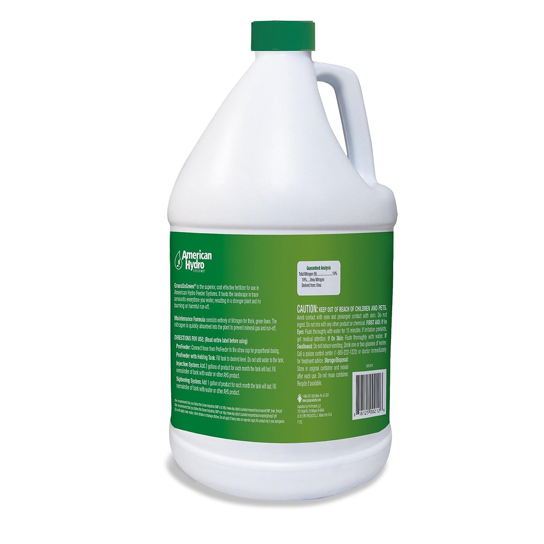 American Hydro Systems 2655 GrassSoGreen Fertilizer Maintenance Formula  19-0-0, 1-Gallon, 4-Pack