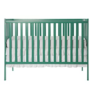 Dream On Me, Synergy 5-in-1 Convertible Crib, Emerald